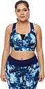 Mujer Sujetador deportivo Top con sostén Sujetador Running Sin costura Licra Zumba Yoga Fitness Tallas Grandes Para senos grandes Transpirable Alto impacto Lib