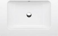 Bette Wandwaschtisch One 70x53x14 cm, mit Bohrung, Raven 400 Glasurplus, A132-400HLW1PW A132-400HLW1PW