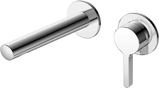 Keuco EHM-WT-Mischer Edition 400 51516, UP, Ausl., 187 mm, Schwarzchrom geb., 51516130201 51516130201