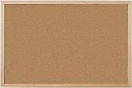 Tablero corcho Niceday marrón 90 x 60 cm