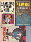 """NULL-A"" SERIES: The World of Null-A / The Players of Null-A (aka The Pawns of Null-A) / Null-A Three Van Vogt, A.E. [ ] [Softcover]"