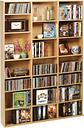Atlantic - Oskar Wood Media Cabinet - Maple