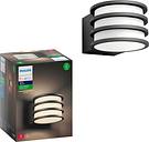 Philips - Hue White Lucca Outdoor Lantern - Black
