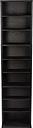 Atlantic - Herrin Media Storage Cabinet - Ebony