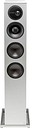 "Definitive Technology - Demand Dual 6-1/2"" Passive 3-Way Floor Speaker (Each) - Gloss White"