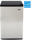 Whynter 3.0 cu. ft. Energy Star Upright Freezer with Lock - Stainless Steel