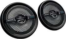 """Sony - 6-1/2"""" 2-Way Coaxial Car/Marine Speakers with Dual Cones (Pair) - Black"""