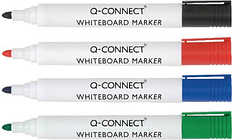 Q-Connect Drywipe Marker Pens Assorted (Pack of 10) KF00880