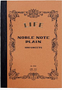 Life Stationery - Japanese Paper 'Noble Note' Plain Notebook