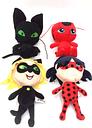 Ladybug Girl Red Ladybug Miraculous Ladybug Ladybug Ladybug Black Cat Plush Doll Toy Gift