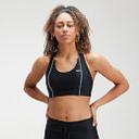 Sujetador deportivo Velocity para mujer de MP - Negro - M