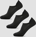 MP Women's Essentials Ankle Socks - Black (3 Pack) - UK 7-9