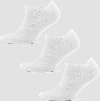 MP Men's Essentials Ankle Socks - White (3 Pack) - UK 6-8