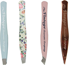 The Vintage Cosmetic Company 4 Piece Mini Tweezer Set