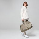 Luxe Holdall - Taupe