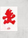 Nintendo Lets A Go Go Art Print - A3 - Print Only