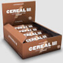 Barrita Proteica de Cereales - 12 x 30g - Chocolate Doble