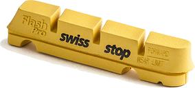 SwissStop FlashPro Brake Blocks - Yellow King - One Type