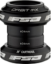 FSA Orbit MX Headset - Black - 1.1/8 - Black