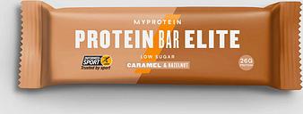 Barrita Proteica Elite (Muestra) - Caramelo y Avellana