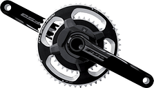 FSA Powerbox Powermeter Alloy Road ABS Chainset - 53 x 39 - 175mm