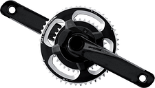 FSA Powerbox Powermeter Carbon Road ABS Chainset - 50 x 34 - 175mm