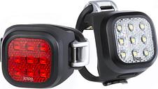 Knog Blinder Mini Niner Lightset - Black
