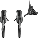 Campagnolo Potenza 11 Speed HO Ergopower Shift/Brake Lever (Including Front or Rear Caliper) - 160mm - Front Caliper - Black