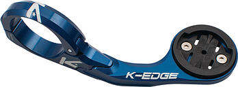 K-Edge XL Garmin Mount - 31.8mm - 31.8mm - Blue