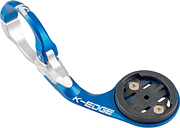 K-Edge Garmin Race Aero Mount - 31.8mm - Blue