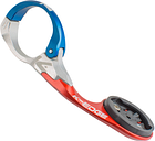 K-Edge Garmin Race Aero Mount - 31.8mm - Blue/Red
