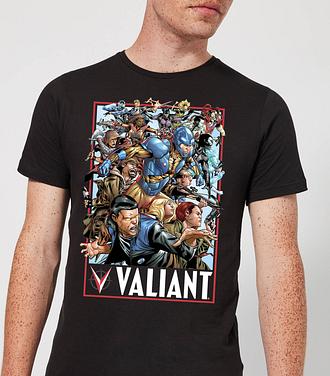 Camiseta Valiant Comics Valiant 01 - Hombre - Negro - XXL - Negro
