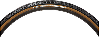 Panaracer Gravel King SK Clincher Tire - 700c x 35mm - black/brown