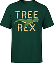 Camiseta Navidad  Tree Rex  - Hombre - Verde oscuro - L - Forest Green