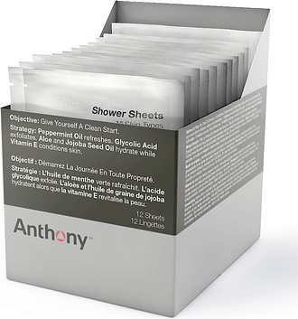 Anthony Shower Sheets (12 Sheets)