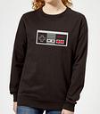 Sudadera Nintendo NES Mando - Mujer - Negro - M - Negro