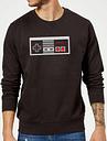 Sudadera Nintendo NES Mando - Hombre - Negro - S
