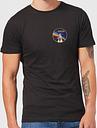 NASA Vintage Rainbow Shuttle T-Shirt - Schwarz - L - Schwarz