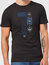 Camiseta Star Wars The Resistance - Hombre - Negro - XXL - Negro