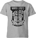 Camiseta Nintendo Mario Kart Equipo Reparación - Niño - Gris - 7-8 años - Gris