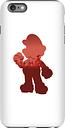 Funda Móvil Nintendo Super Mario Mario Silhouette para iPhone y Android - iPhone 6 Plus - Carcasa doble capa - Brillante