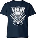 Camiseta Marvel Thor Ragnarok Martillo de Thor - Niño - Azul marino - 7-8 años - azul marino