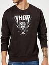 Sweat Homme Marvel - Thor Ragnarok - Triangle Asgardien - Noir - M - Noir