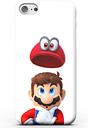 Funda Móvil Nintendo Super Mario Odyssey Mario And Cappy para iPhone y Android - Samsung Note 8 - Carcasa doble capa - Brillante
