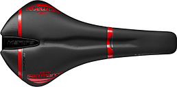 Selle San Marco Mantra Full-Fit Racing Saddle - Narrow - S1 - Black/Red