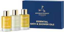 Coffret huiles de bain Aromatherapy Associates Essentials Relax, De-stress & Revive 3x9ml
