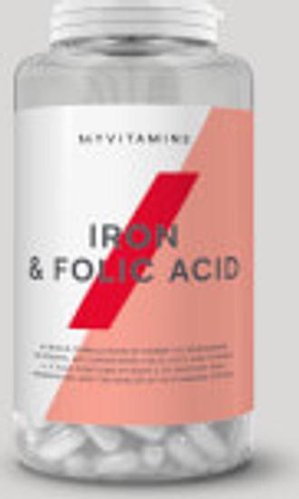 Ácido Fólico y Hierro Comprimidos - 90Tabletas