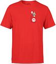 Camiseta Nintendo Super Mario Mario - Hombre - Rojo - S - Rojo