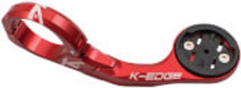 K-Edge XL Garmin Mount - 31.8mm - 31.8mm - Red