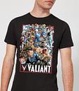 Camiseta Valiant Comics Valiant 01 - Hombre - Negro - S - Negro